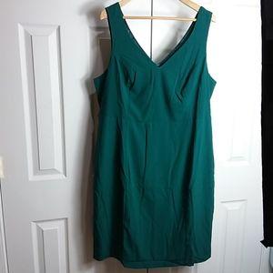 ModCloth Forest Green Dress Sz 2X